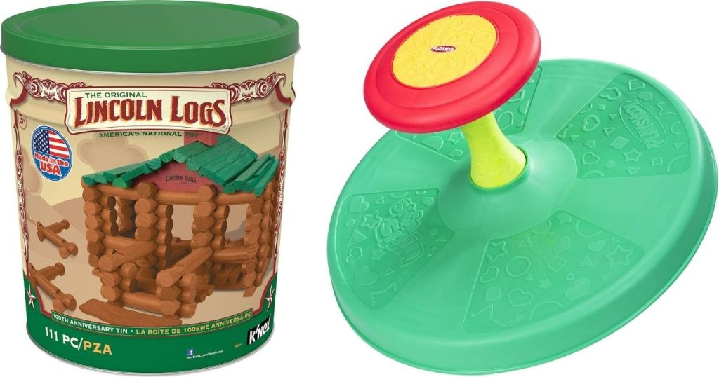 Lincoln Logs and Spinner