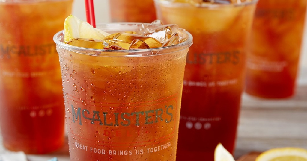 McAlister's Deli National Iced Tea Day