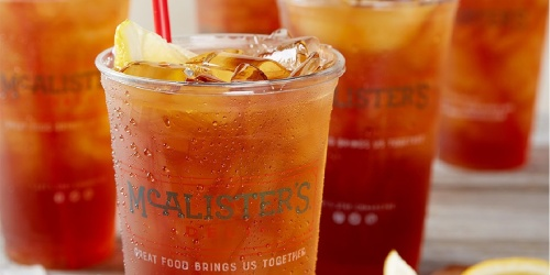 McAlister's Deli 1-Month Tea Pass Only $6.99   First 20 Customers on 6/10 Score FREE Pass & Tumbler