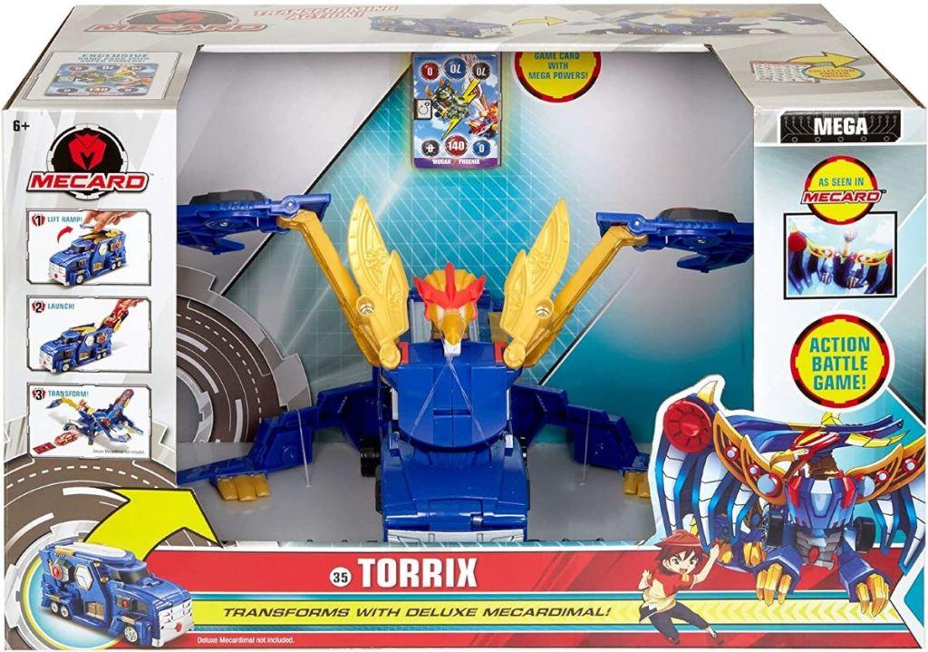 Mecard Mega Torrix toy