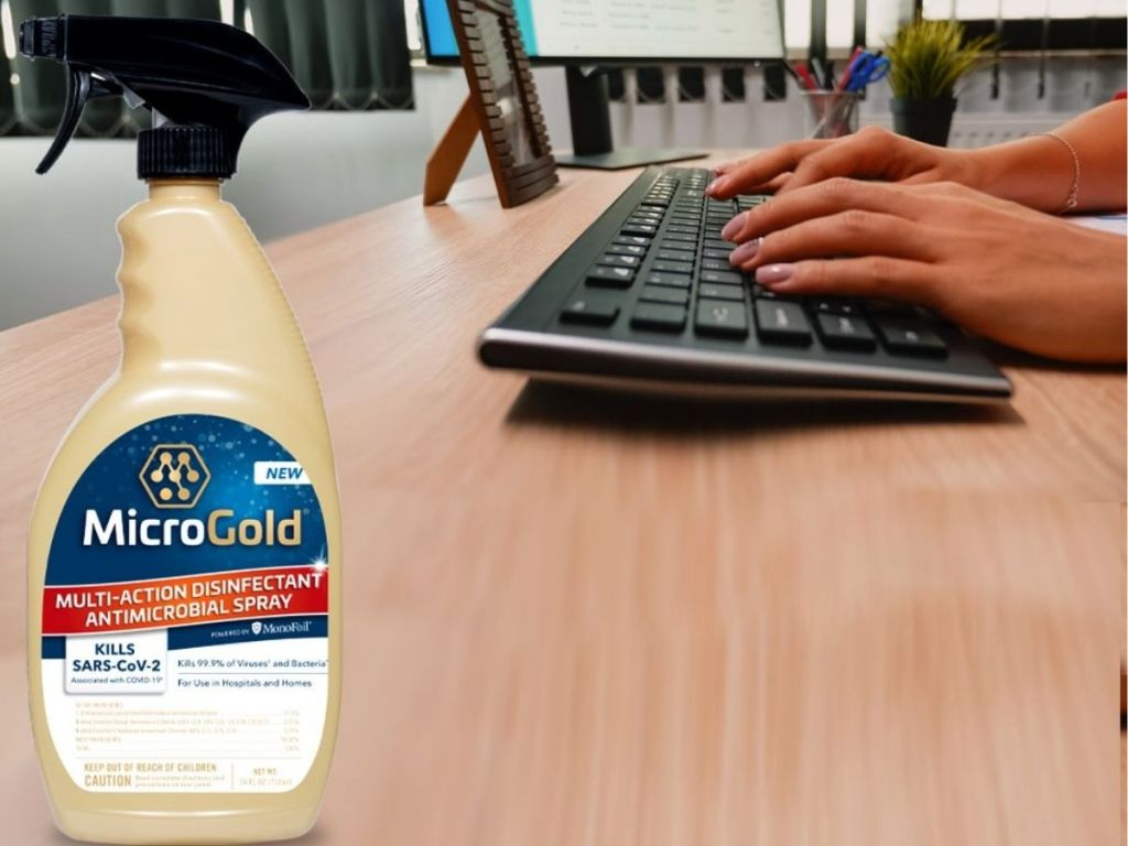 Microgold Antimicrobial Spray