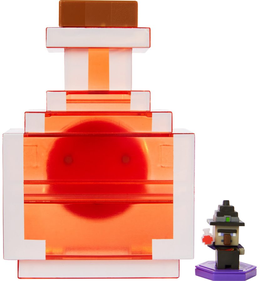 Minecraft Carry Along Potion Case and Mini Figure