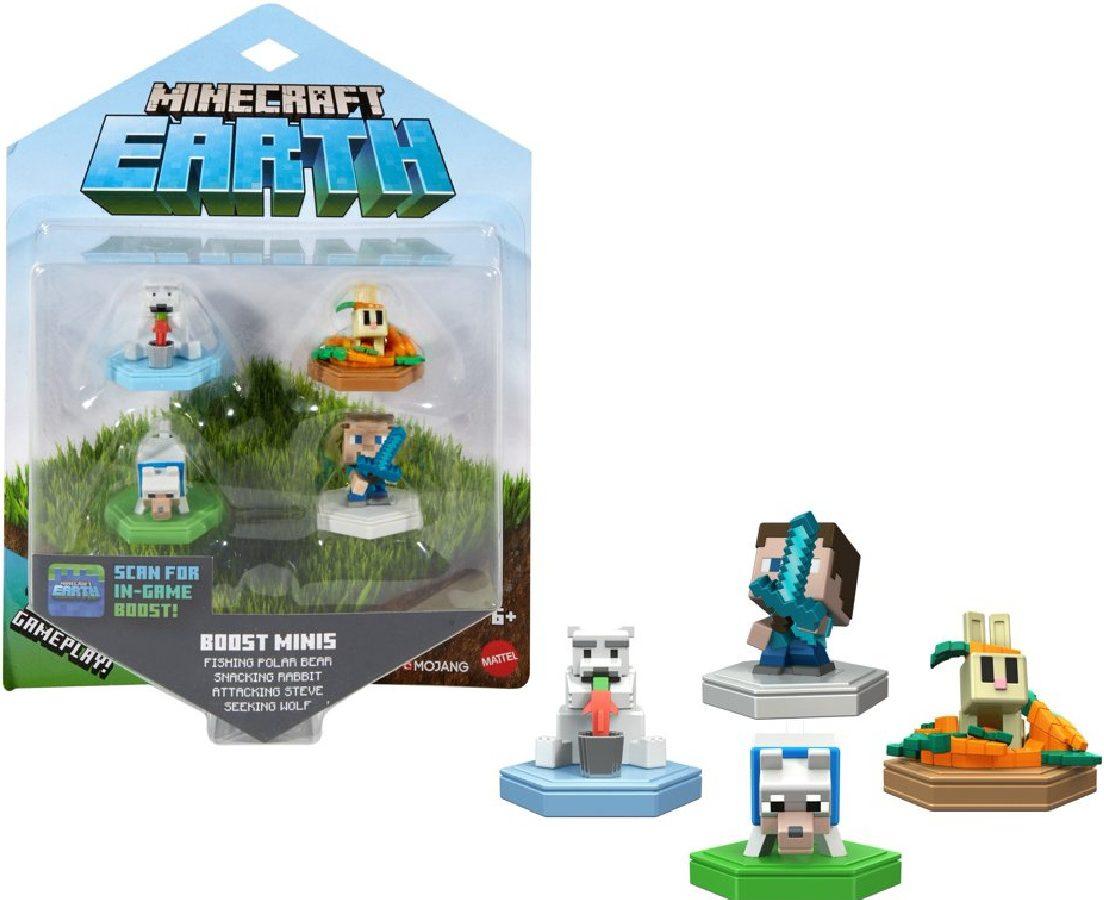 Minecraft Mini-Figures 4-Pack