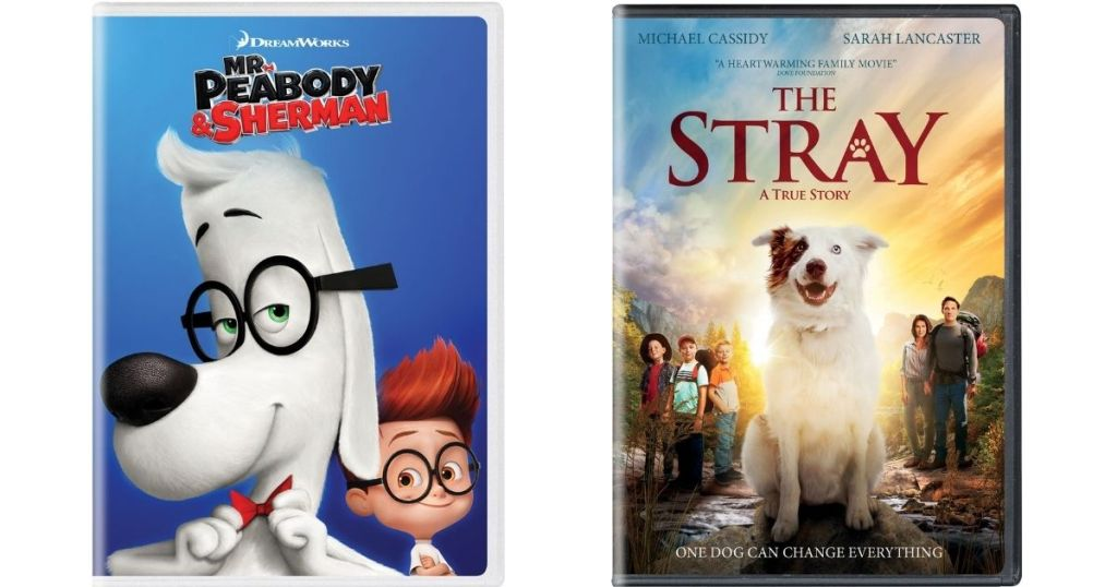 Mr Peabody and The Stray DVDs
