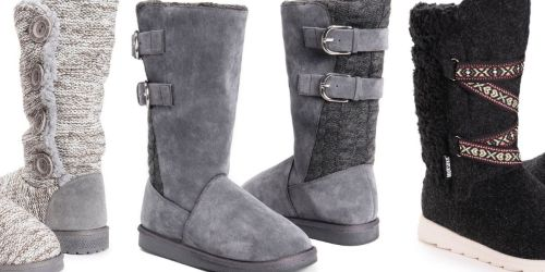Muk Luks Women's Boots From $17.41 on Amazon or Zulily (Regularly $38+)