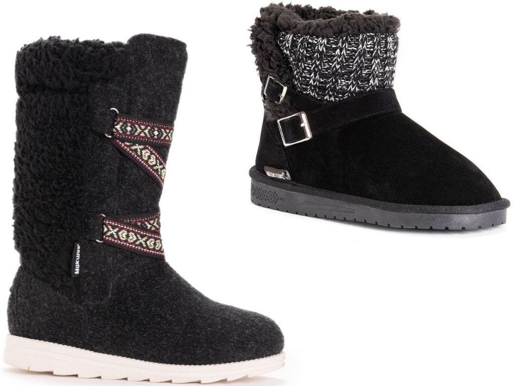 two Muk Luks Women's Boots