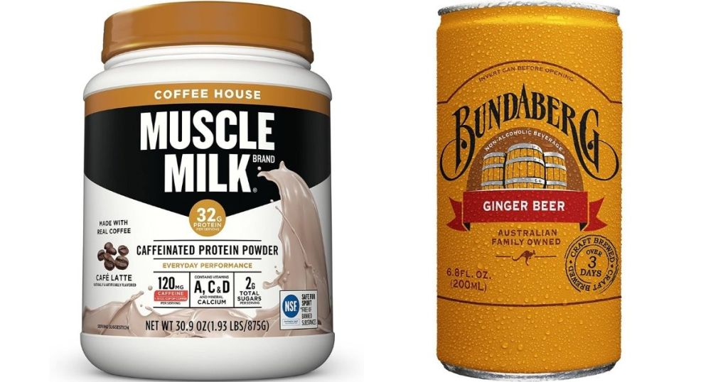 Muscle Milk and Bundaberg