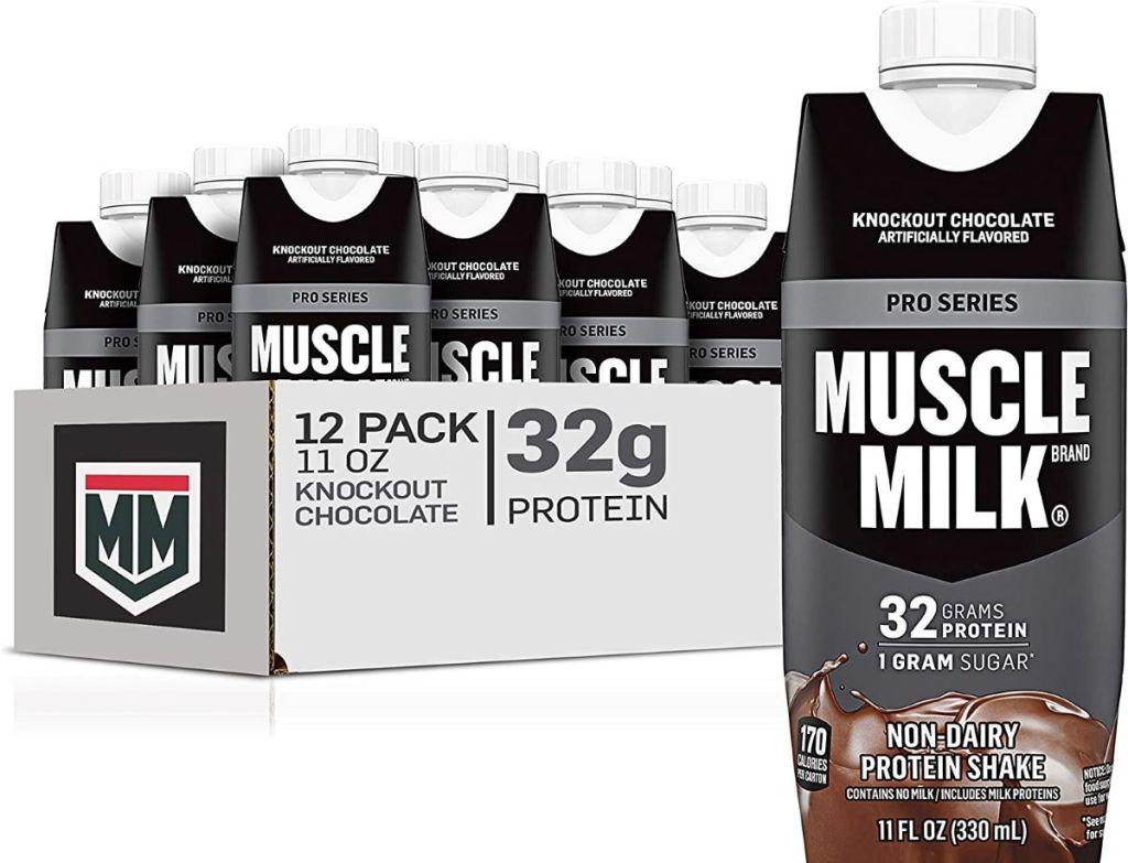 Muscle Milk shakes