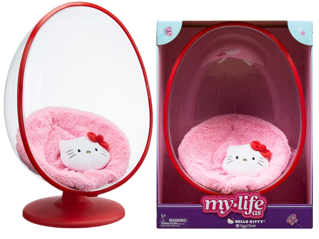 My Life As Hello Kitty Egg Chair and box