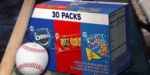 Oreos, Ritz Crackers, & Chips Ahoy! 30-Count Variety Pack Only $6.98 Shipped on Amazon