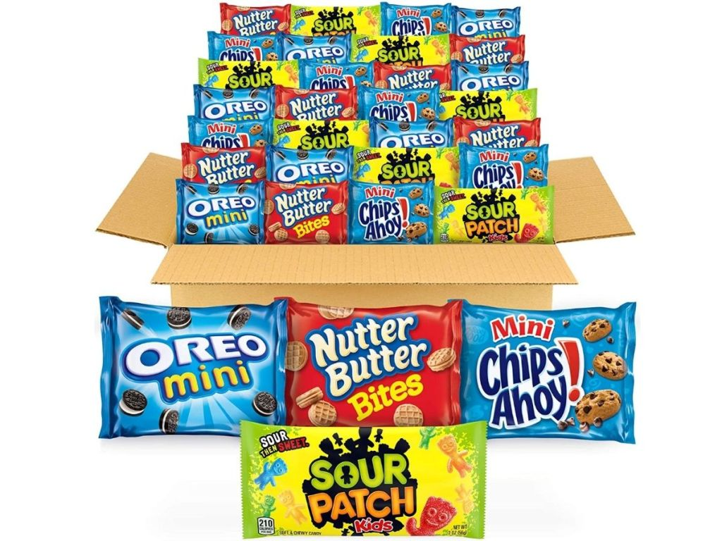 nabisco snack packs in box