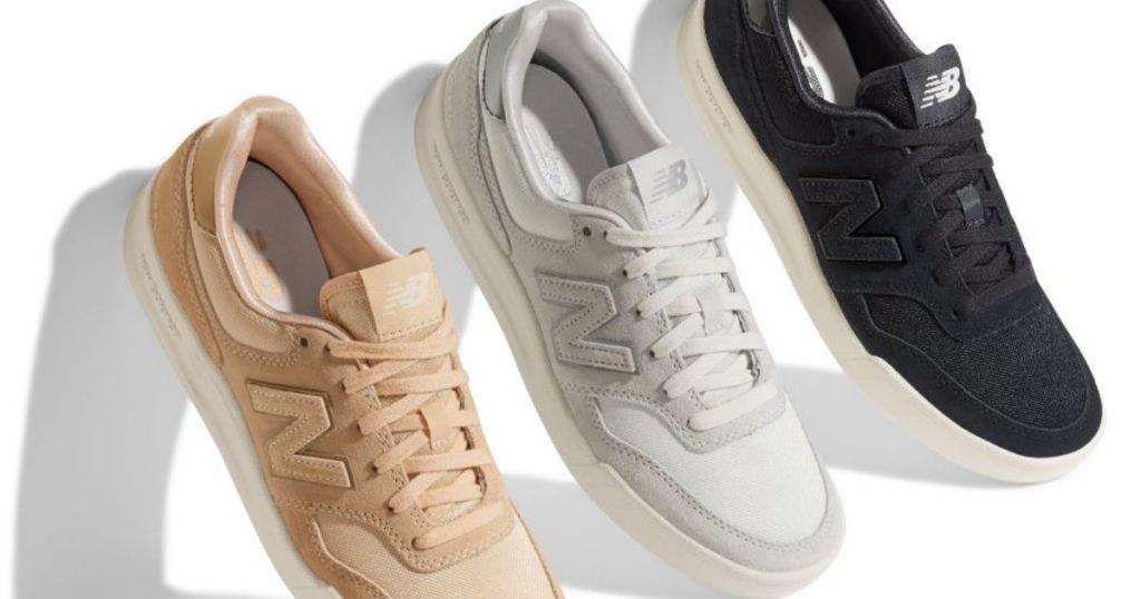 three New Balance Sneakers