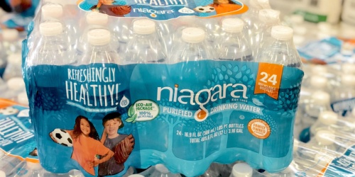 Bottled Water 24-Pack Just $1.99 w/ Free Pickup at Office Depot (Regularly $8)