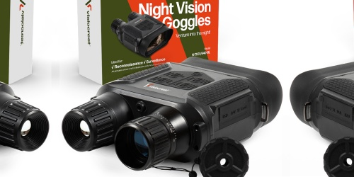 Night Vision Binoculars Only $146.89 Shipped for Amazon Prime Members | Captures Pictures & Video