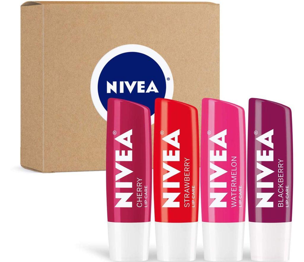 Nivea Fruit Lip Balm in box
