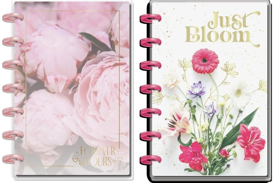 Notebook and Planner from The Happy Planner