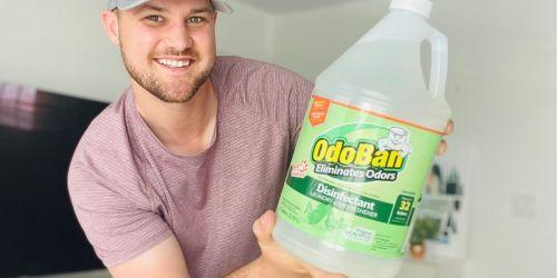 OdoBan Odor Eliminator & Disinfectant 4-Pack Only $29.88 on SamsClub.com