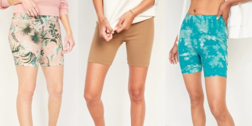 Old Navy Women's & Girls Bike Shorts $4-$6 (Regularly up to $18)