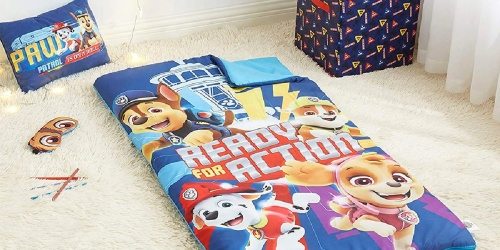 Kids' Character Sleeping Bag Sets Only $7.99 on Zulily | PAW Patrol, Disney, Star Wars & More