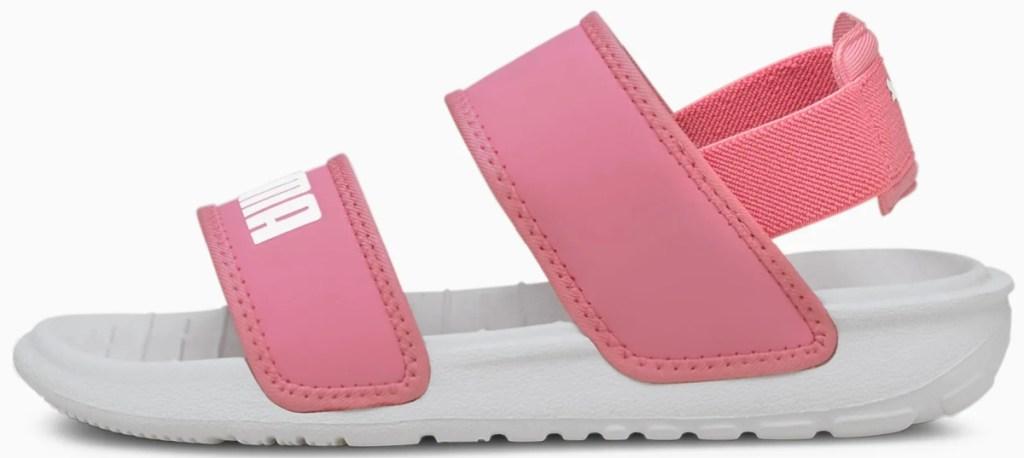 pink kids strappy sandals