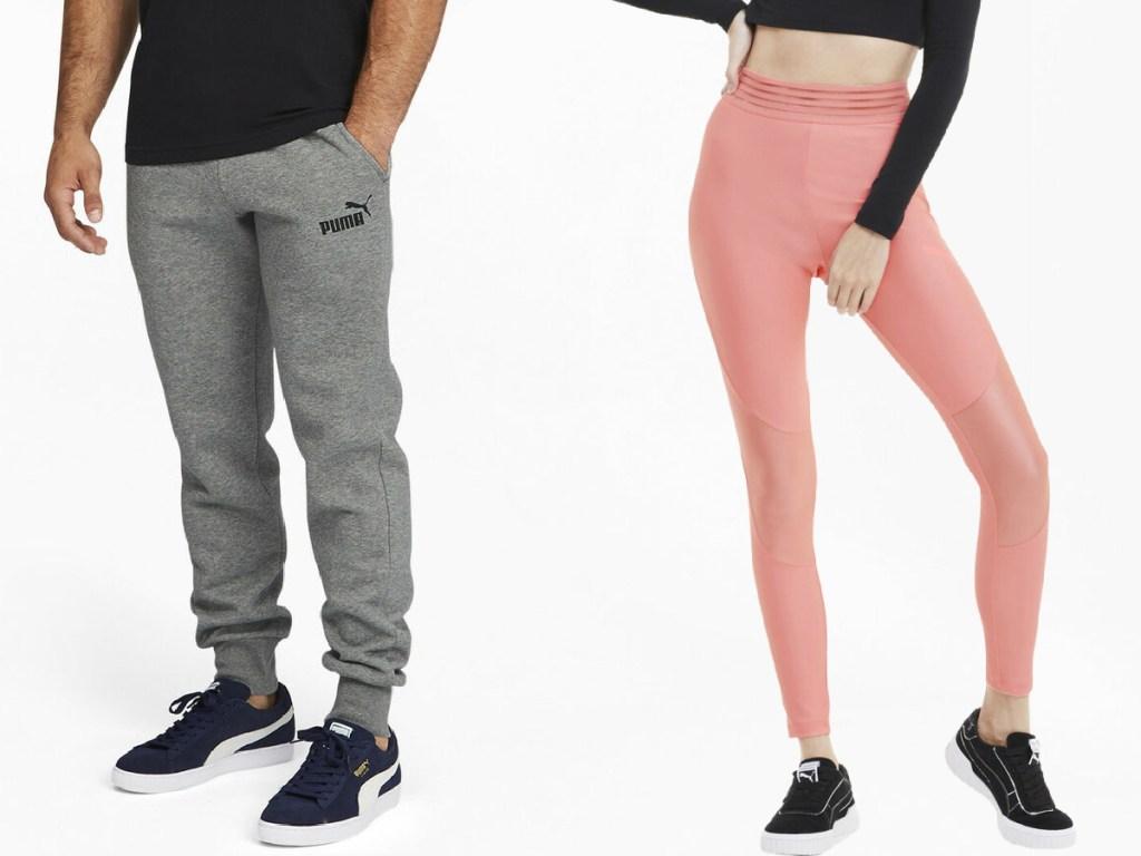 PUMA men's pants and women's leggings