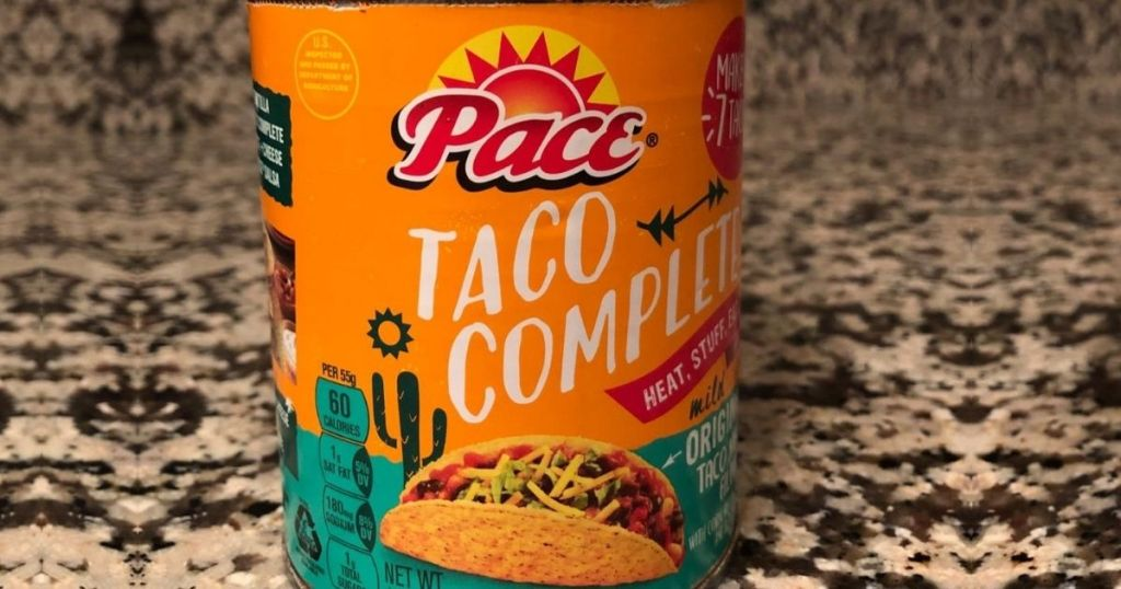 Pace Taco Complete Can