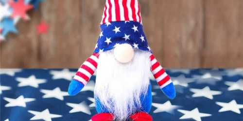 Fourth Of July Gnomes Only $9.99 Each Shipped on Jane.com | Perfect for Beach or Pool This Summer!