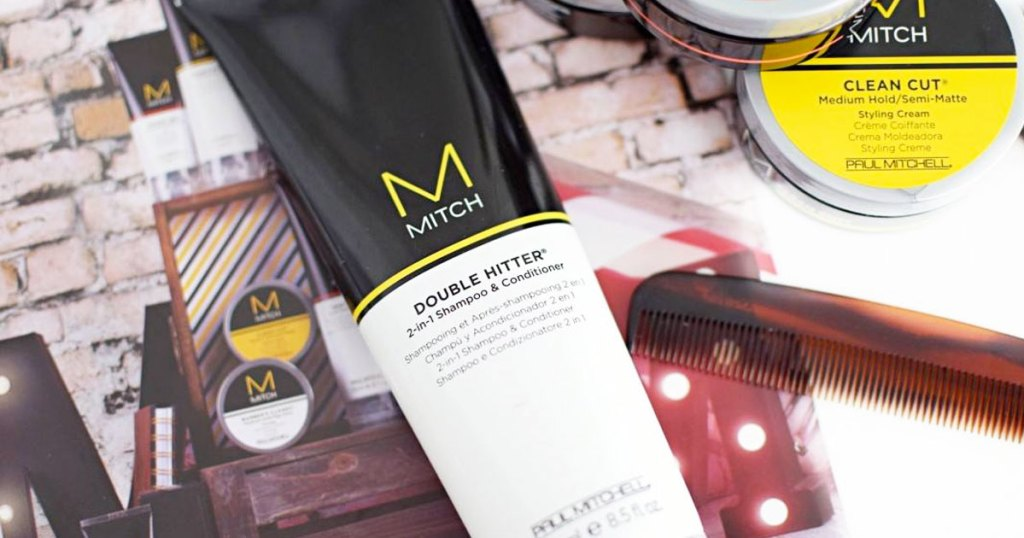 paul mitchell 2-in-1 shampoo & conditioner bottle