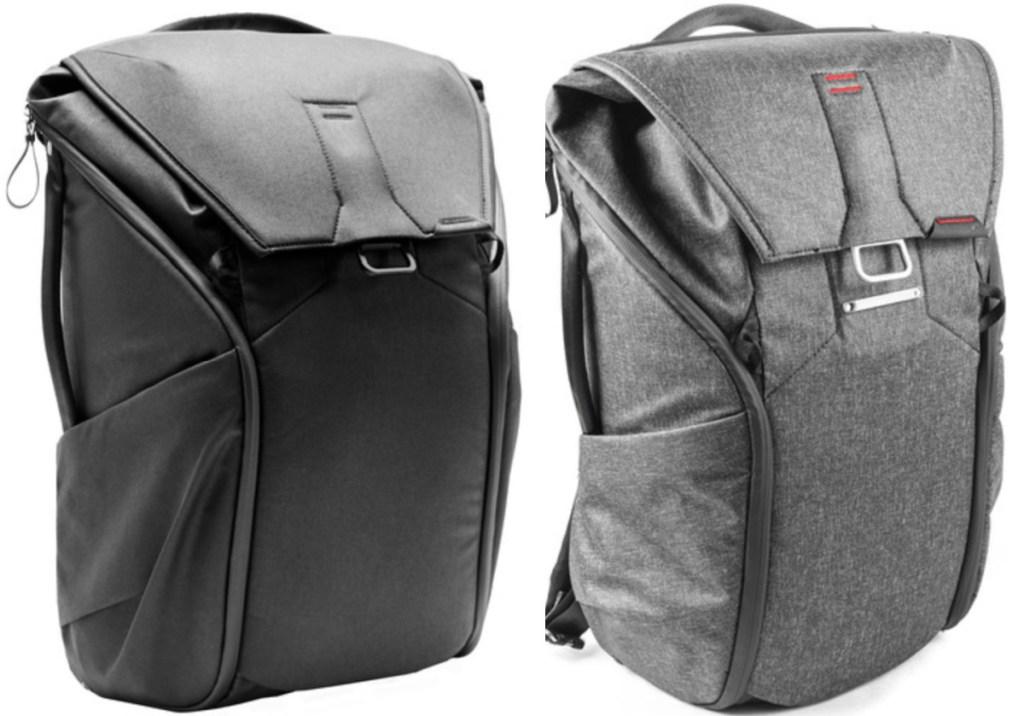 2 large peak design backpacks