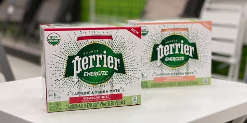 Perrier Water Energy Drink 6-Pack Only $2.99 After Cash Back at Target (Regularly $6)