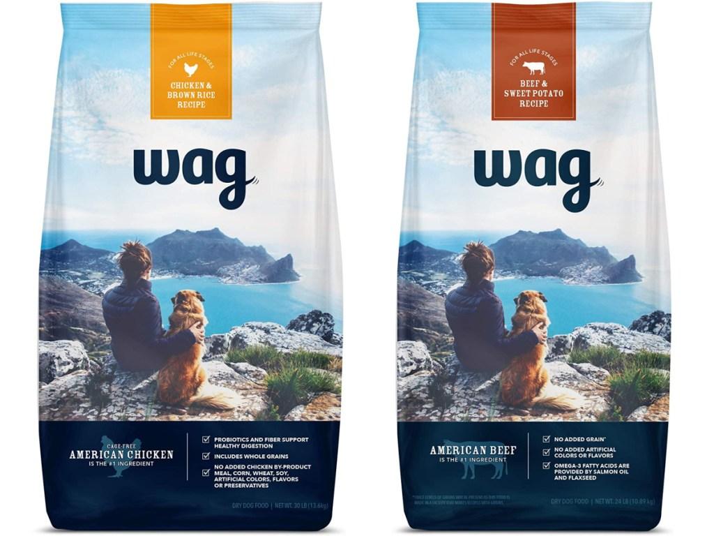 wag brand dry pet food