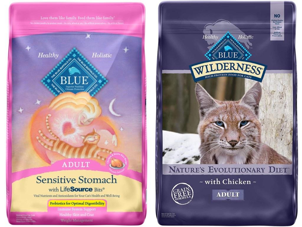 blue buffalo dry adult cat food