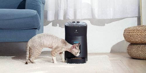 Automatic Pet Feeders from $47.99 Shipped on Amazon | Clog-Free Design & Low Food Sensor
