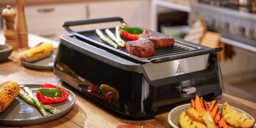 Certified Refurbished Philips Indoor Smokeless Grill Only $89.99 Shipped (Regularly $350)   Includes 2 Year Warranty