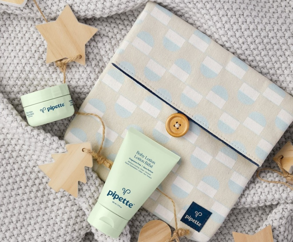 Pipette Baby Travel Kit with lotion and balm