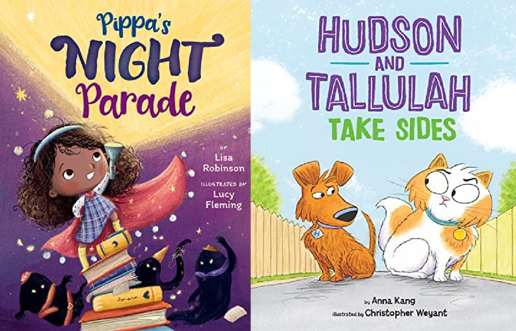 Pippa's Night Parade and Hudson and Tallulah Take Sides Books