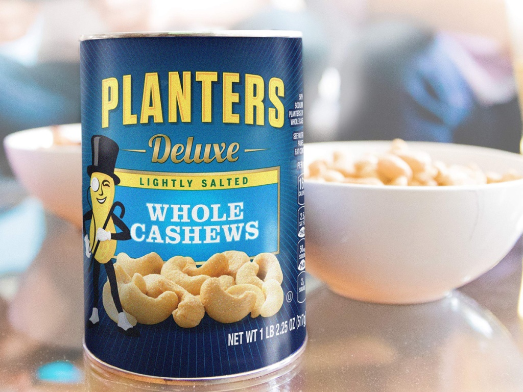 planters whole lightly salted cashews