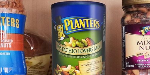 Planters Pistachio Lovers Mix 1.15lb Canister Only $8.37 Shipped for Amazon Prime Members