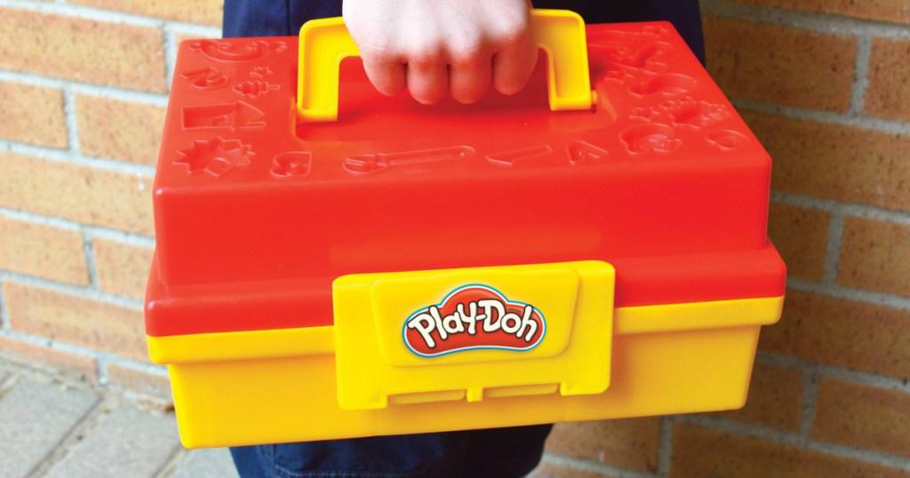 Play Doh tool box
