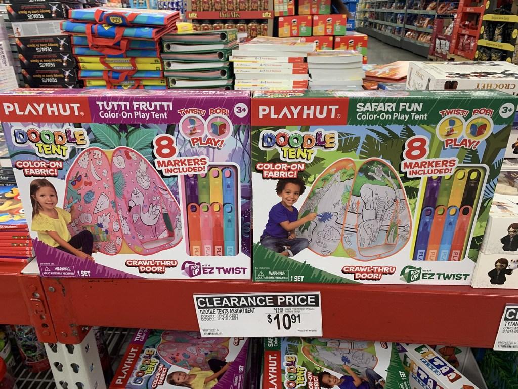 Play Hut Color Tents