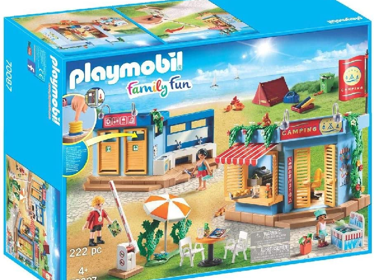 Playmobil Large Campground Adventure Set in the box