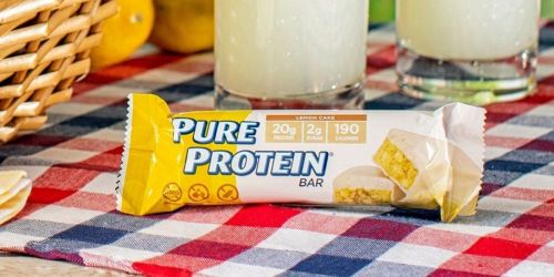 Pure Protein Bars 12-Pack Only $6.75 Shipped for Amazon Prime Members