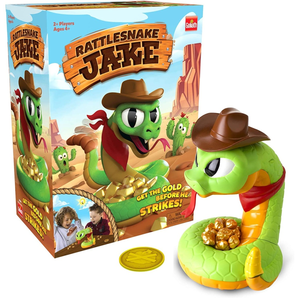 rattlesnake themed kids game