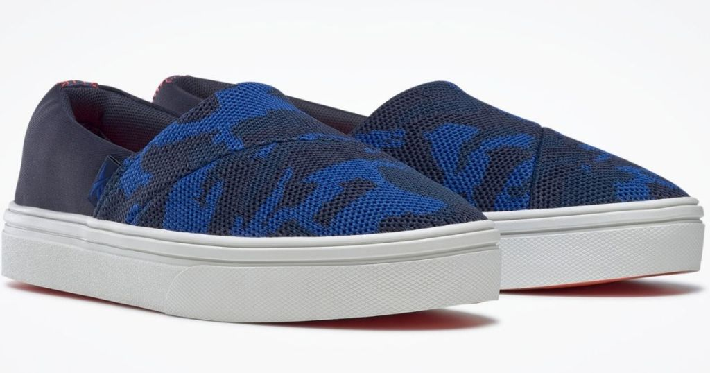 pair of Reebok shoes