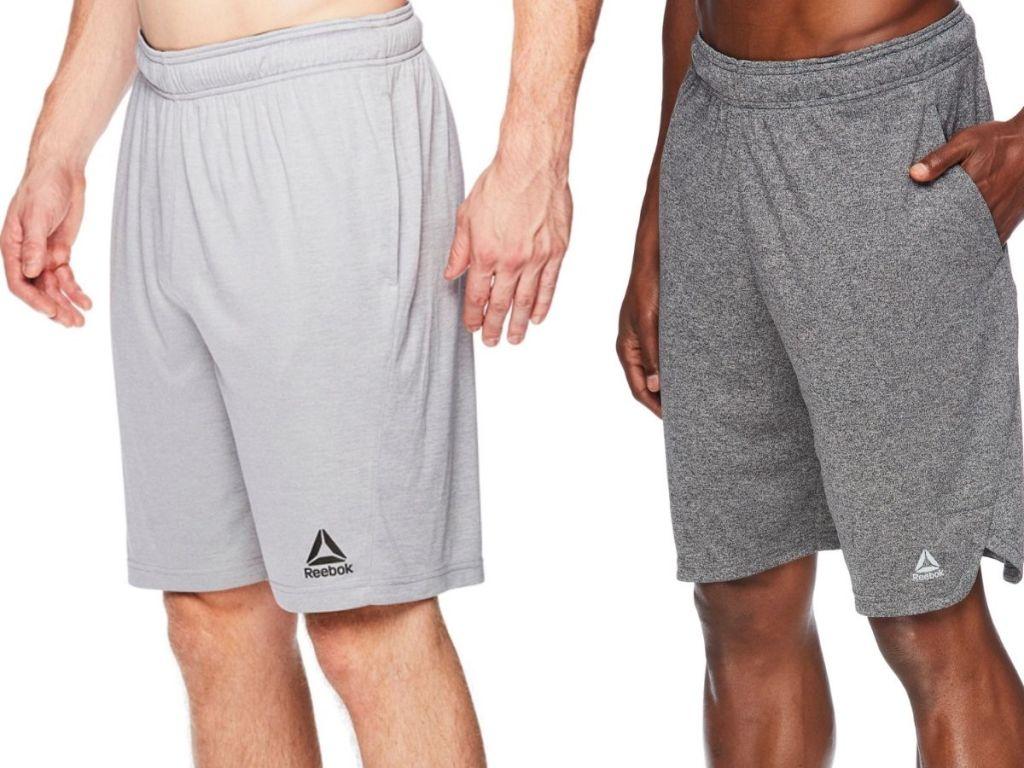 two men wearing Reebok Men's Athletic Shorts