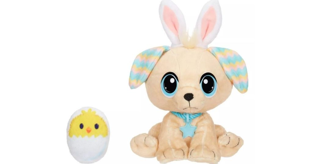 Rescue Tales Plush Pup and Easter Egg