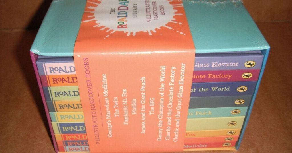 Roald Dahl library set