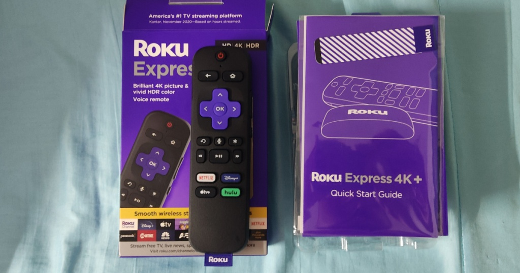 voice remote and streaming media player