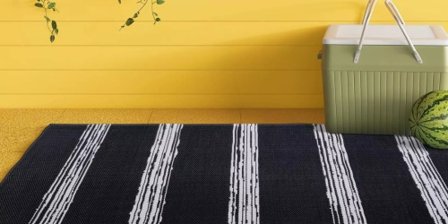 40% Off Patio Furniture & Rugs on Target.com | 4′ x 6′ Outdoor Rug Just $12 (Regularly $20)