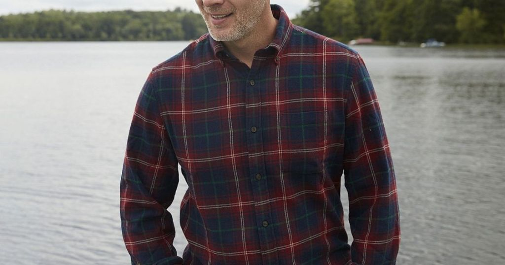 Saint John's Bay Button-Down Shirt